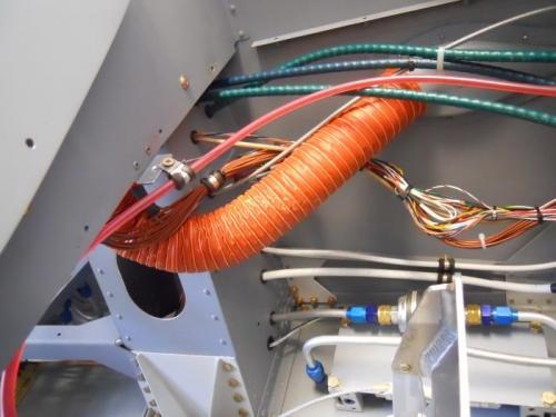 SCAT tube--fresh air intake