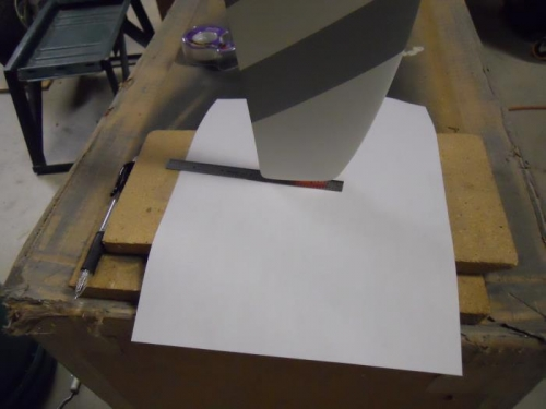 Hi-tech prop track checker