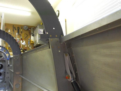 F807 bulkhead riveted, upper outboard was a bear to access