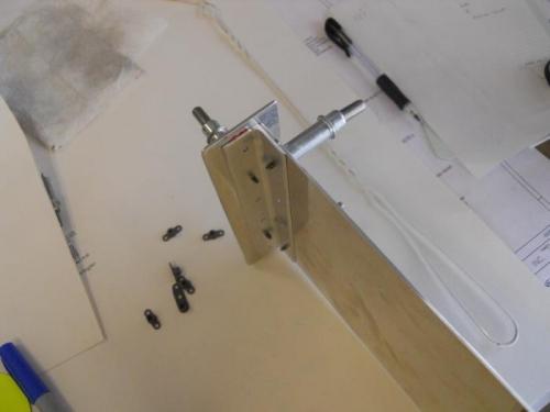 Mounting plate, backup and angle