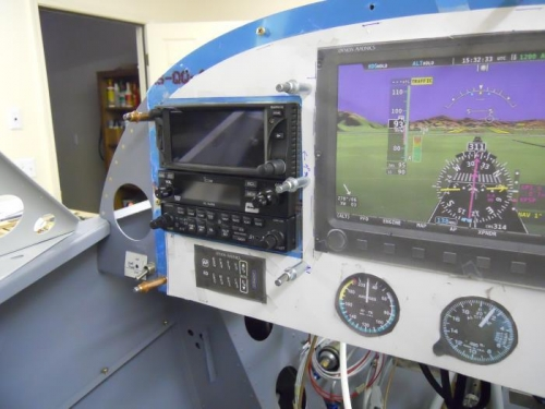 Radios temp installed-