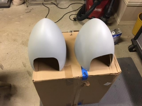 Front halves just need primer