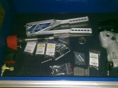 Rivet tool drawer