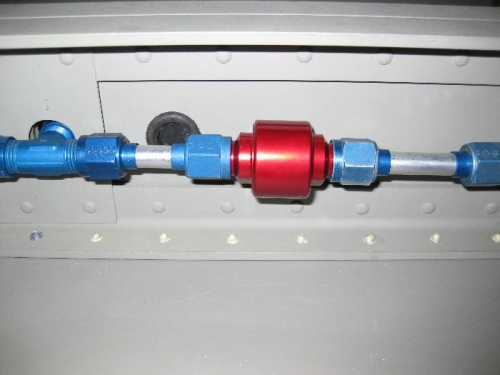 Filter before the transducer sender