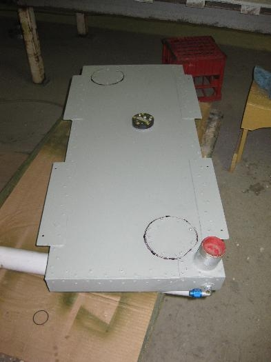 Access panels in place and tested for leaks