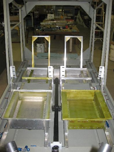 4 seat  frames in position