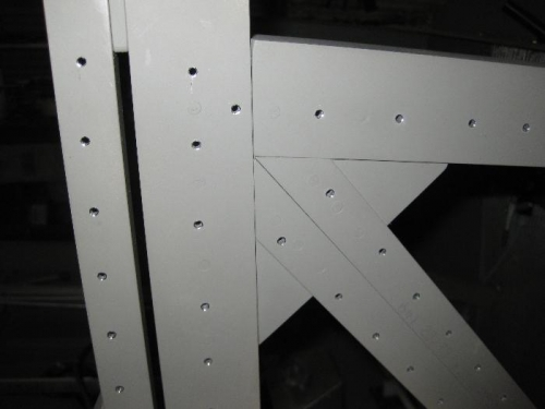 Deburred and ready for the solid rivets