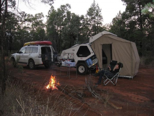 On the way, west of the Great Dividing Ranges