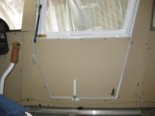 Door Linings, lock, handles and gas struts final install
