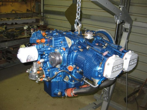 New I0-375-M1S (205HP) engine