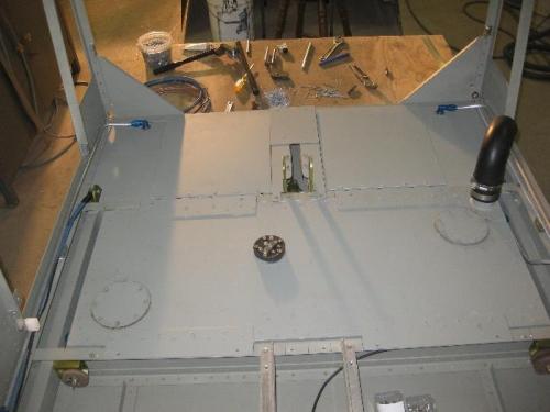 Aux. Fuel tank final install