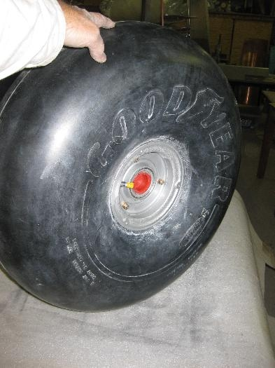 Goodyear tyre fitted with tbe.