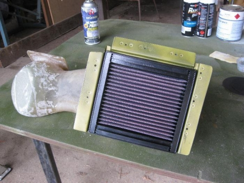 Air Filter in Snorkle