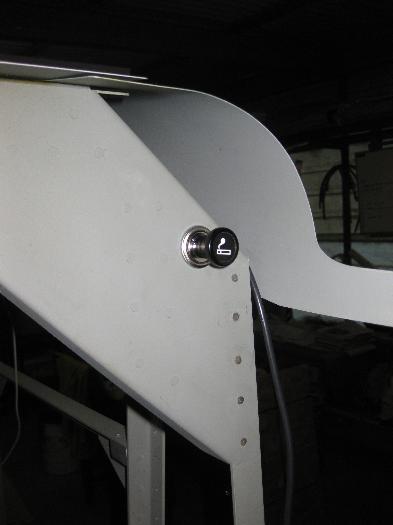 Cigarette Lighter power in the cargo bay bulkhead