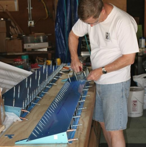 Clecoing the Flaps Together for Match Drilling