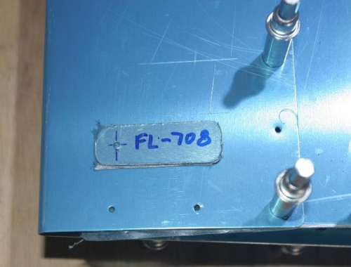 FL-708 Shim with 1 Hole Pre-Drilled