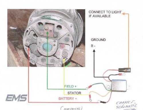 Marv jensen experimental aircraft builders log alternator voltage regulator sketch sciox Gallery