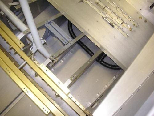 Seat pan area